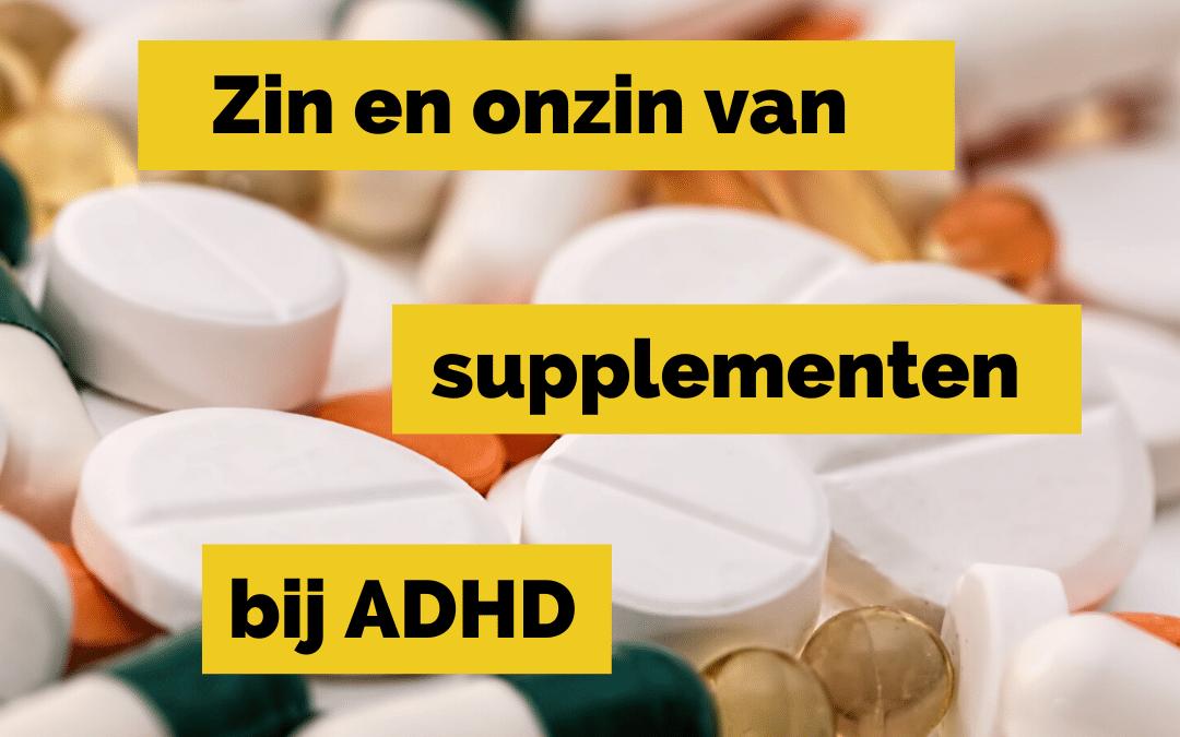 LTO3 bij ADHD en andere supplementen
