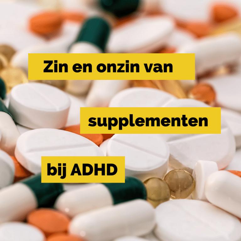 Supplementen bij ADHD LTO3