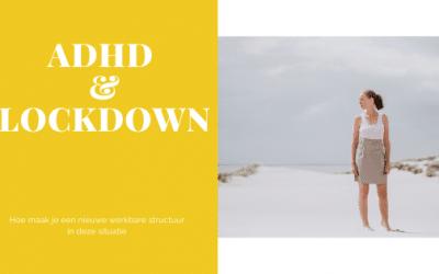 #36 8 tips voor structuur bij ADHD en lockdown